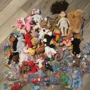 Ty Beanie Babies 50 Of Them for Sale in Carterville, IL