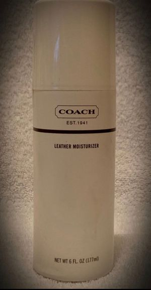 Coach Brand Leather Moisturizer for a Purse/Bag/Wallet/Shoes 6 fl oz/177ml As Shown! for Sale in San Diego, CA