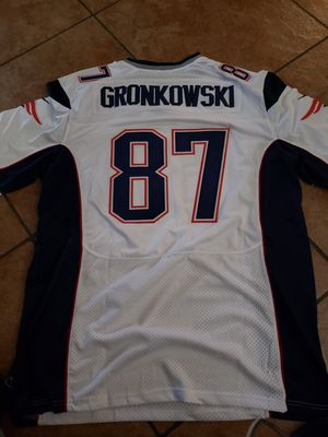 PATRIOTS GRONKOWSKI JERSEY SIZE xl n 2XL 100% STITCHED for Sale in Colton, CA