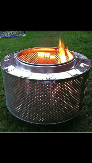 Stainless fire pits great for bbq camp for Sale in Fresno, CA