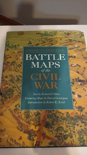 Battle Maps of the Civil War American Heritage for Sale in MIDDLEBRG HTS, OH