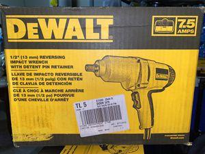 Dewalt 1/2 impact wrench brand new for Sale in Las Vegas, NV