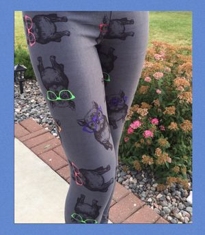 New Dog Bulldog Leggings Soft as Lularoe for Sale in Saginaw, MI