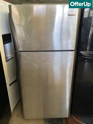 🚚💨Stainless Steel Whirlpool Refrigerator Fridge Same-Day Delivery #802🚚💨 for Sale in Sanford, FL