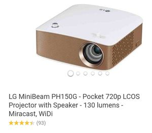 "LG Projector & Automatic 100"" Screen for Sale in Washington, DC"