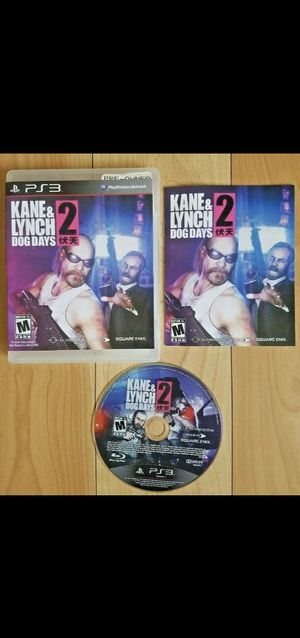 KANE & LYNCH 2 DOG DAYS PS3 Game for Sale in Los Angeles, CA