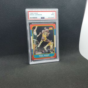 1986 Fleer Magic Johnson #53 Psa 9 for Sale in Portland, OR