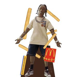Travis Scott McDonalds Cutout for Sale in Silver Spring, MD