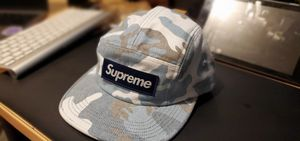 Supreme - Washed Out Camo Camp (Blue) for Sale in Portland, OR