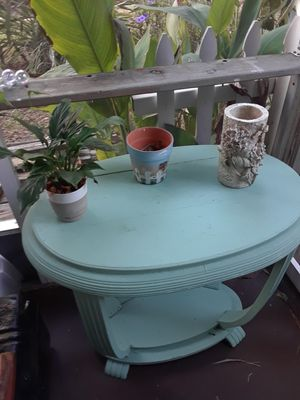 Turquoise oval table for Sale in Port Charlotte, FL