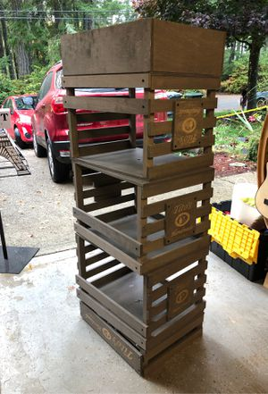 Man cave crates for Sale in Gig Harbor, WA