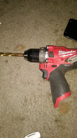 Milwaukee fuel 12v hammer drill for Sale in Bonney Lake, WA