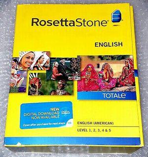 Rosetta Stone Version 5 English Spanish French Portuguese and more for Sale in Boca Raton, FL