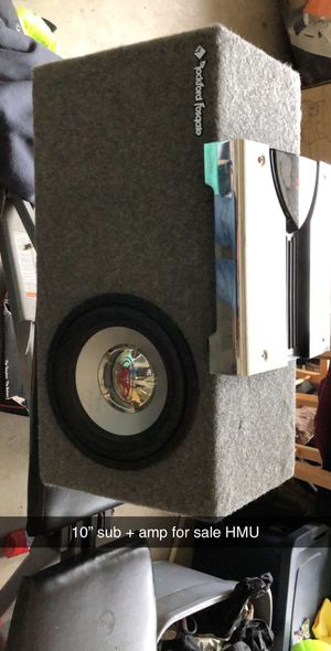 Sub and amp for Sale in Elma, WA