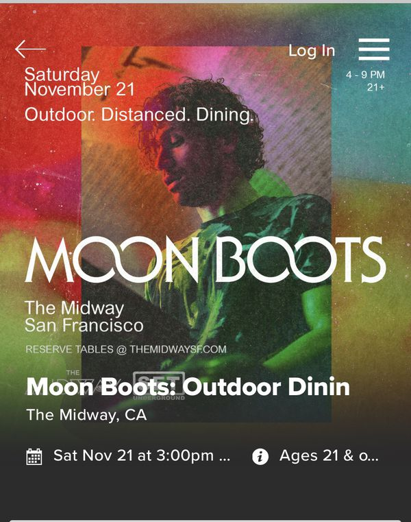 Moon Boots Concert (Tickets)