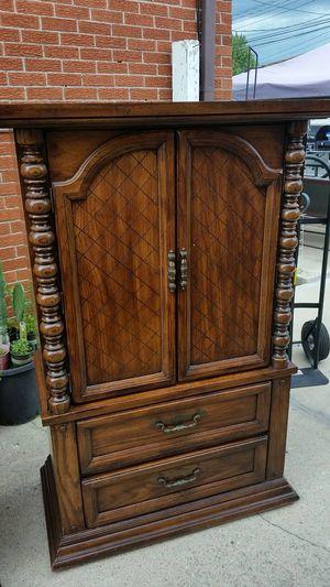 Recámara Queen muy buena madera $450 for Sale in Evergreen Park, IL