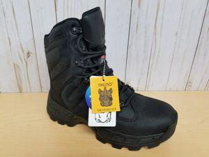 Black Men's Waterproof Work Boots!!! for Sale in Hialeah, FL