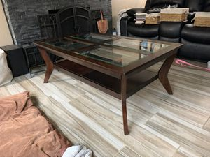 Glass coffee and side table. for Sale in Federal Way, WA