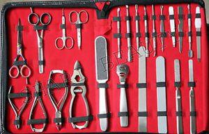 High Quality Full range German Stainless steel 24PC Manicure & Pedicure Tool kit for Sale in Springfield, VA