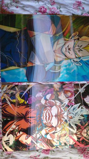 Dragon Ball z holograms photos for Sale in Madera, CA
