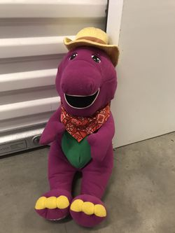 barney plush stuffed animal! so cute and cuddly for Sale in Thousand Oaks,  CA