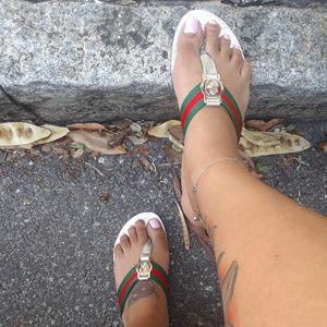Step in style with GUCCI summer slides for Sale in Tampa, FL