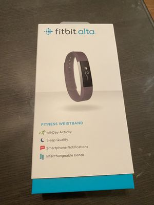 Fitbit Alta like new in box for Sale in Orlando, FL