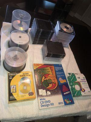 Bulk blank CD-R's and accessories for Sale in Miami, FL