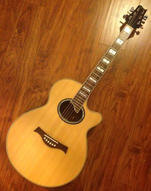Peal Acoustic / Electric Guitar + Gig Bag for Sale in Houston, TX