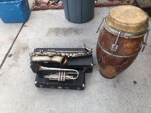 Vintage Musical Instrument Bundle for Sale in Arvada, CO