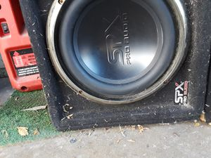 SPX pro audio subwoofers 10 in for Sale in Garden Grove, CA