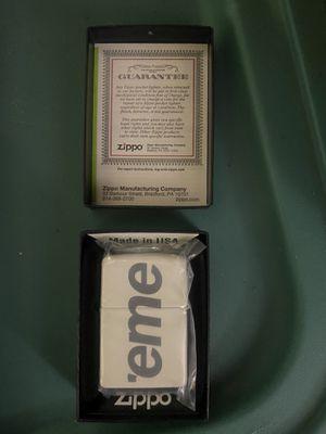 Supreme glow in dark zippo lighter brand new for Sale in Virginia Beach, VA