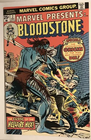 Marvel Presents #2 Bloodstone - Comic Book for Sale in Harrisburg, PA