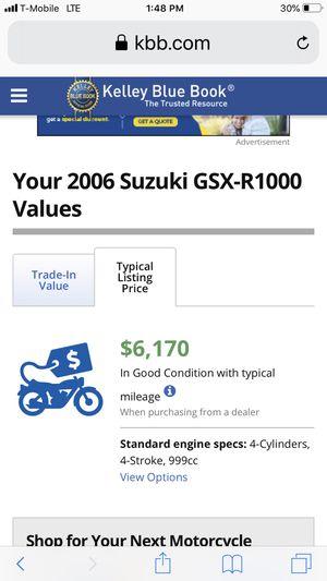 06 suzuki Gxsr 100 motorcycle 10k odm for Sale in Los Angeles, CA