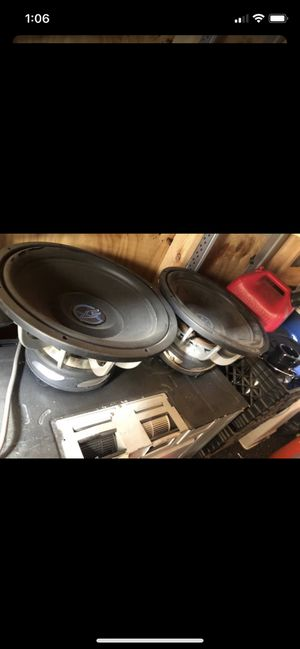 Crossfire Subwoofers for Sale in Whittier, CA