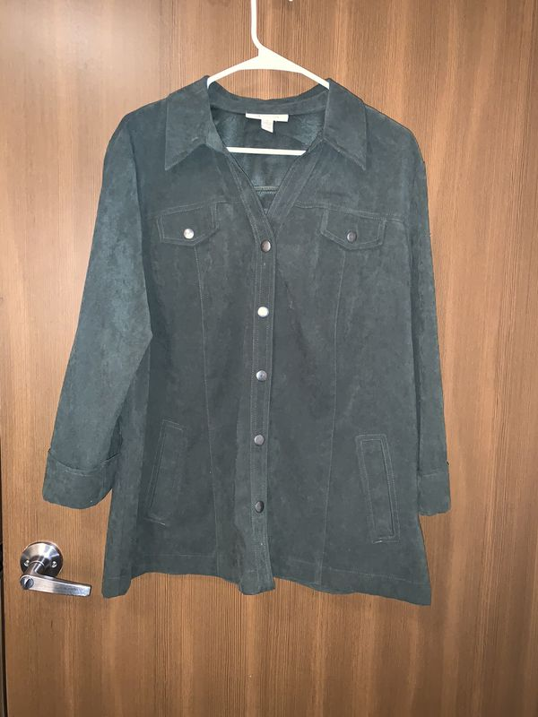 Dark green women's jacket/ coat