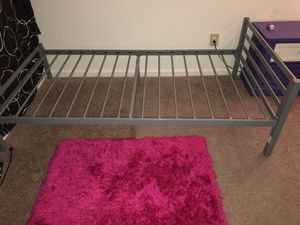Twins size metal bed frame,grey,brand new,never used for Sale in Chester, VA