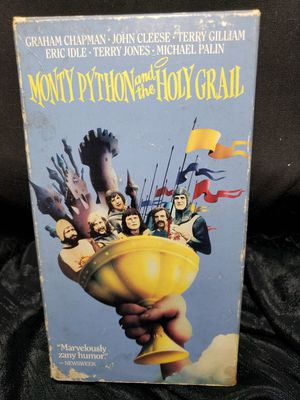 Monty Python And The Golden Grail VHS for Sale in Zanesville, OH
