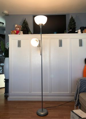 6ft Floor Lamp with Reading Light for Sale in Anaheim, CA