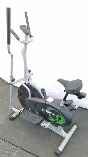 EXERCISE FITNESS BRAND NEW CONDITION STATION BIKE AND ELIPTICAL WITH DIGITAL COUNTER for Sale in Long Beach, CA