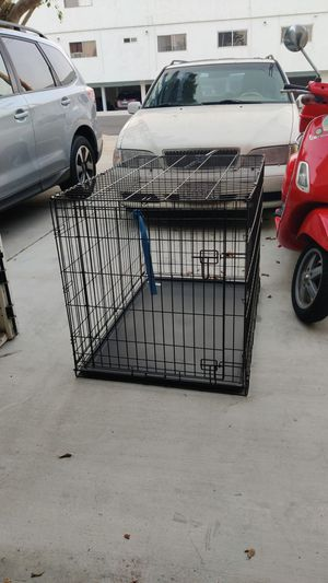 Folding dog crate for Sale in Long Beach, CA