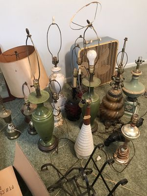 Vintage antique old lamps for Sale in Moore, SC