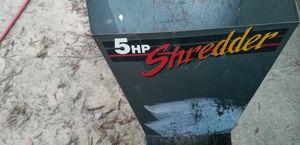 5 horse power wood shredder craftsman industrial Plus for Sale in Durham, NC