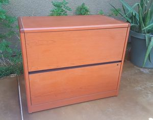 Free 2-Drawer Cabinet w Matching Book Shelf for Sale in Las Vegas, NV