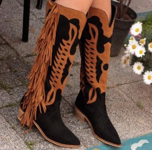 Fringe Knight Boots Mujer Zapatos for Sale in Chicago, IL
