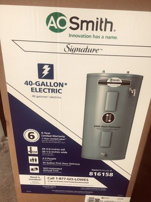 AO SMITH 40 gal. Electric water heater for Sale in Cadiz, KY