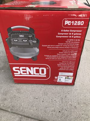 New senco air compressor 6 gal for Sale in West Valley City, UT