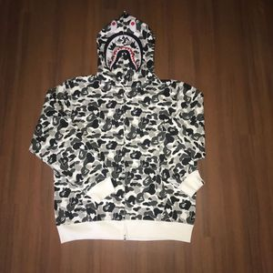 Bape ABC black and white camo shark hoodie for Sale in San Francisco, CA