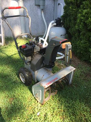 """Craftsman 5 M.P 22"""" snow blower for Sale in NJ, US"""