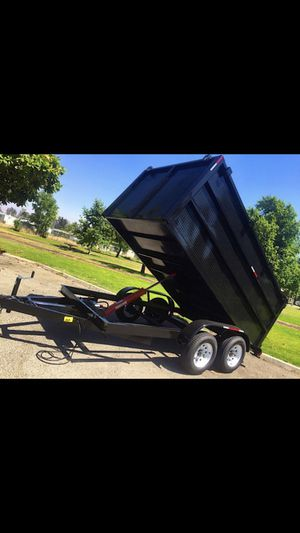 New 2020 Dump Trailer ! 8x12x4 GET YOU TRAILER HERE! for Sale in Modesto, CA